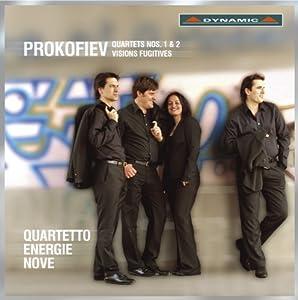 Prokofiev: Quartets Nos 1 & 2 - Visions Fugitives