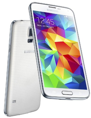 Samsung Galaxy S5 Sm-G900Fd Dual Sim 16Gb Factory Unlocked International Version - White