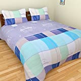 BRiDA Polycotton Double Bedsheet - 225 Cm X 225 Cm, Grey