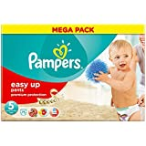 Pampers - 81376090 - Easy Up Pants Diapers - Size 5 Junior - 12-18 kg - 75 x Megapack Diapers