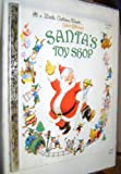Santa's Toy Shop 451 - 08 ,17 a Little Golden Book