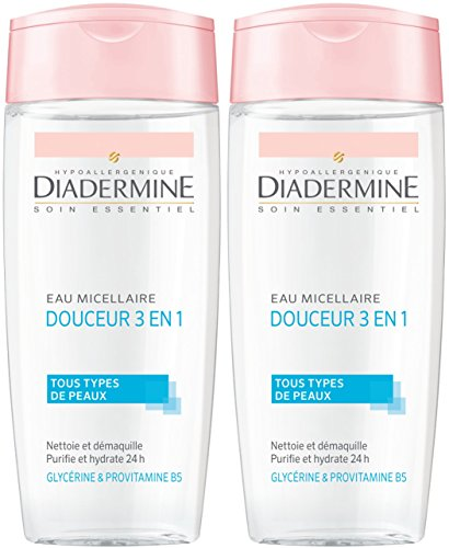 Diadermine Essential cura delicata Micellare Acqua 3 in 1 donna 200 ml - Set di 2