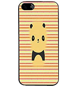 PrintDhaba Cartoon D-2979 Back Case Cover for APPLE IPHONE 5S (Multi-Coloured)