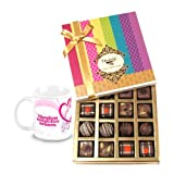 Valentine Chocholik Belgium Chocolates - Bestest Collection Of Truffles And Chocolates With Love Mug