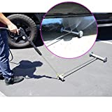 Broutech Undercarriage /Drive way Washing Broom Cleaner, 4000 PSI W/36 inch Extention Wand & Wheel Angle Board (15