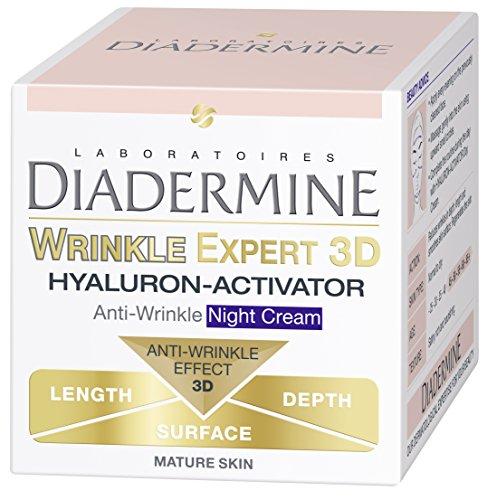 Diadermine rughe Expert 3D Hyaluron-Activator Active 3D Crema Antirughe Notte 50ml