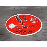 ロードランナー MOTOR OIL ステッカー 世田谷ベース アメリカ雑貨 アメリカン雑貨