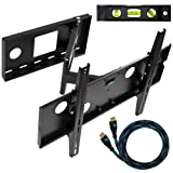 51JiwfvWaAL. SL160  Top 10 TV Mounts for December 17th 2011   Featuring : #3: Cheetah Mounts ALAMLB LCD TV Wall Mount Bracket with Full Motion Swing Out Tilt and Swivel Articulating Arm