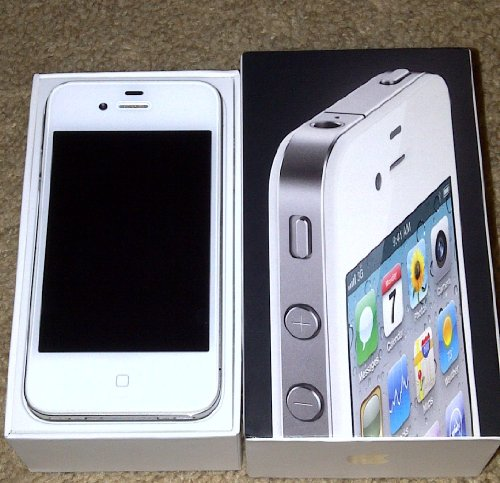 Apple iPhone 4 16GB White Unlocked (Never Lock)