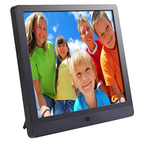 Pix-Star 10.4 Inch Wi-Fi Cloud Digital Photo Frame FotoConnect XD with Email, Online Providers, iPhone & Android app, DLNA and Motion Sensor (Black) (Photo Digital Storage compare prices)