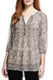 M&S Collection Faux Snakeskin Tunic [T43-3342-S]