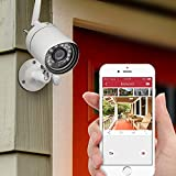 Funlux 720p HD Wireless Outdoor Security Camera Night Vision Video Surveillance Wifi Camera