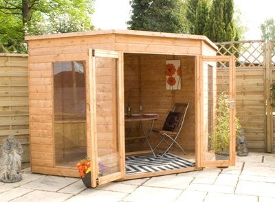 8 x 8 Corner Summerhouse from Buttercup Farm