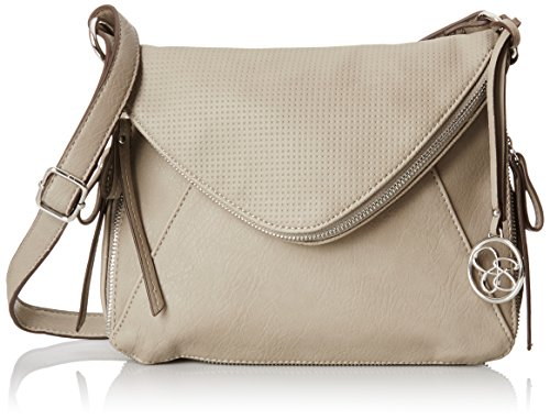 Jessica Simpson Monica X-Body Cross Body Bag, Dove Grey, One Size