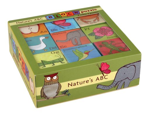 Mudpuppy Nature's ABC Block Puzzle - 1