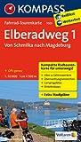 Elberadweg 1, Von Schmilka nach Magdeburg: Fahrrad-Tourenkarte. GPS-genau. 1:50000.