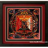 Buddhist Mandala Vajrabhalrava Art Poster Print