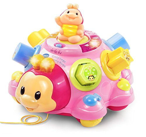 Toys For Legs : Vtech crazy legs learning bugs pink