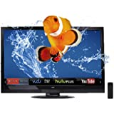 VIZIO M3D650SV 65-Inch Class Theater 3D Edge Lit Razor LED LCD HDTV with VIZIO Internet Apps (Black) (2012 Model)
