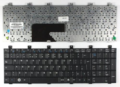 Keyboards4Laptops Fujitsu Siemens Amilo Xa 1526 Schwarz Vereinigtes Königreich kompatible Ersatztastatur