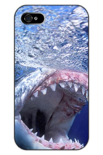 SPRAWL@ The New Iphone 人気 ファションデザイン アイフォン5 / 5S ハード プロテクトー ジャケット表皮カバーケース Hard Case For Iphone 5 / 5Sに適用--サメ/鋭い歯