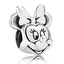Pandora Silver Disney Minnie Portrait Charm 791587 by Pandora