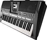 Yamaha PSRA2000 61-Key Keyboard Production Station with Portable X-Style Bench Double X-Style Keyboard Stand Yamaha Piano Style Sustain Pedal and Headphones