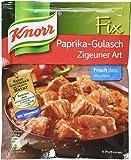 Knorr Fix gulasch with bellpeppers (Paprika-Gulsch Zigeuner Art) (Pack of 4)
