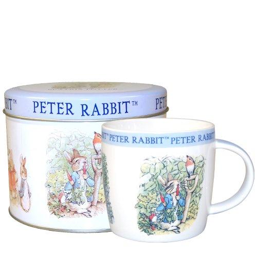 Peter Rabbit Mug in Tin