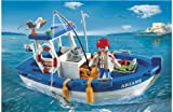 Playmobil 5131 Fishing Boat with HSB® Storage Bag