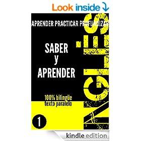 INGL�S - SABER & APRENDER #1: Una nueva forma de aprender ingl�s (Spanish Edition)