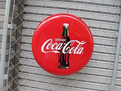 コカコーラ ディスクアイコン プレート(45cm) アメリカ看板 Coca・Cola コカコーラ看板 ブランド コカコーラグッズ メタル看板 ドリンク アメリカン雑貨 アメリカ雑貨 コカ・コーラ