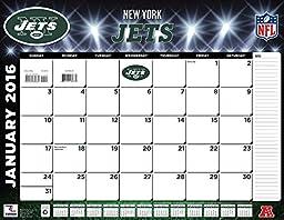Turner New York Jets 2016 Desk Calendar, January-December 2016, 22 x 17\