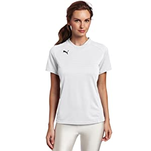Puma Manchester Women's Shirt, Large, White/White