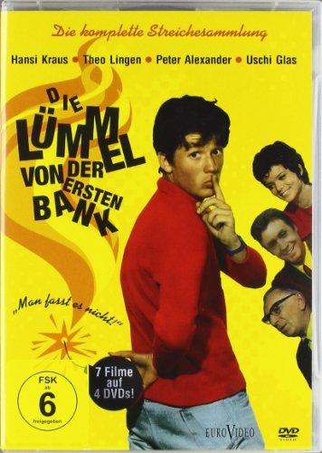 Die Lümmel von der ersten Bank - Die komplette Streichesammlung (4 DVDs)