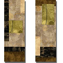Elevate I & II by Brent Nelson 2-pc Premium Stretched Canvas Set (Ready to Hang)