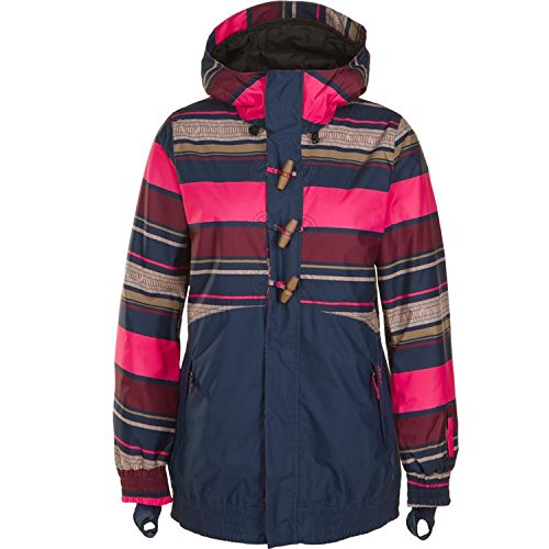 O'Neill Snow Juniors Nobility Jacket, Pink Aop, Small