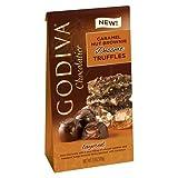 Godiva Caramel Nut Brownie Dessert Truffles, 4.4 oz