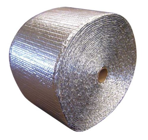 """EcoFoil Double Bubble Between Joist Reflective Foil Insulation w/ Staple Tabs (16"""" X 125' Roll)"""