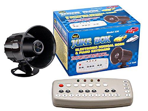 Wolo (336) Juke Box Electronic Musical Horn – 12 Volt image