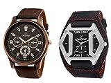 Dezine combo of analog watches-DZ-GR401+GSQ902