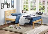 Homelegance 5794TAK-1 Platform Bed, Twin, Oak Finish