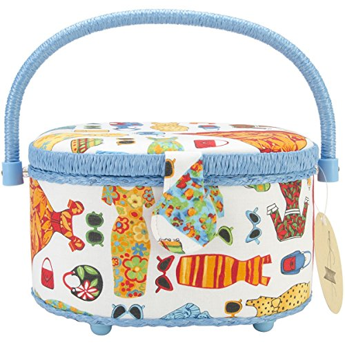 Cheap Prym 128946DD Oval Sewing Basket, Dress Design