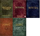 The Lord of the Rings + The Hobbit DVD (25 Discs) All 5 Movies Extended Edition DVD Box Set Film Collection: The Fellowship of the Ring / The Two Towers / The Return of the King / The Unexpected Journey / The Desolation Of Smaug + Over 20 Hours of Extras