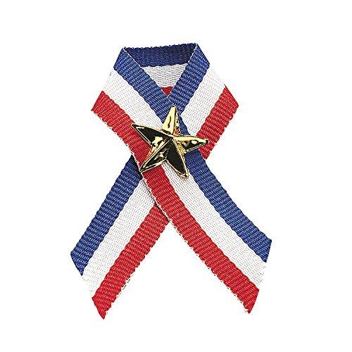 patriotic-ribbon-with-star-pins-12-pack-4-ribbon-3-4-metal-pin