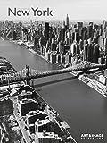 New York 2016 - Wandkalender / Städtekalender/ Posterkalender schwarz/weiß 48 x 64 cm