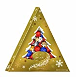 Lindt Lindor Truffles Holiday, Assorted Tree Box, 5.9-Ounce Package