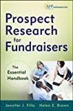img - for Prospect Research for Fundraisers: The Essential Handbook book / textbook / text book