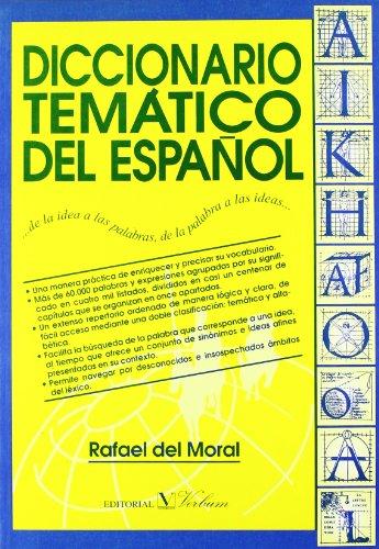DICCIONARIO TEMATICO DEL ESPAÑOL