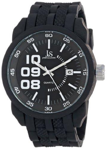 Joshua & Sons JS63BK - Reloj para hombres